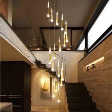 modern led pendant lights iron luxury