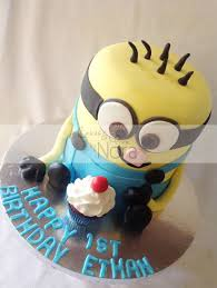 One In A Minion Cakes And More By Nora
