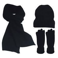 Mens Designer Hat Scarf And Gloves Set Feoya Fashion Winter Warm Knit 3pc Hat Glove And Scarf Set For Men Women Children