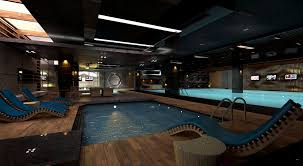 indoor gym pool. Cgarchitect Professional 3d Architectural Visualization User Gym Indoor Swimming Pool Interior E