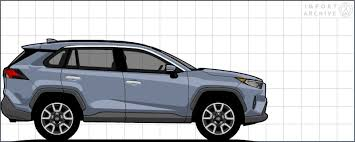 2019 Rav4 Color Chart Importarchive Toyota Rav4 2019 Touchup Paint Codes And