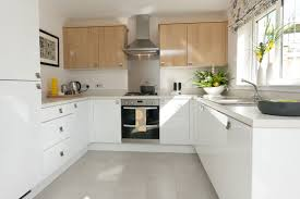 White Kitchen Tile Floor Kuchnia Kuchnia Pinterest Grey White Kitchens And Grey