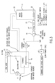 patent us6216685 common venting of water heater and induced patent drawing