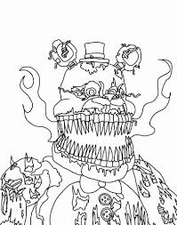 Fnaf Coloring Pages Free At Getcoloringscom Free Printable