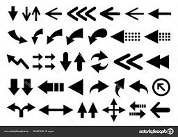 Stock Illustration Vector Set Of Arrow Shapes Geekchicpro