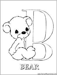 Small Picture Alphabet Coloring Pages Precious Moments Coloring Pages