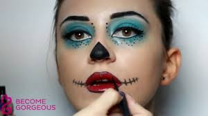 skelita calaveras makeup saubhaya makeup monster high makeup beauty set review frankie stein draculaura and clawdeen