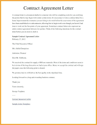 Business Agreement Letter Between Two 407317728839 Examples Of