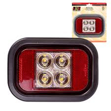 Led Tray Lights Details About New Led Autolamps 12 24v Recessed Mounted Indicator Light Lamp Ute Tray Trailer