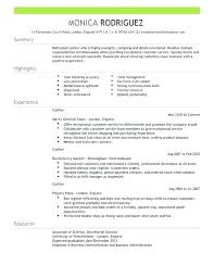 Cashier Resume Description Classy Sample Cashier Resume Pelosleclaire