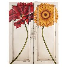 floral painted furniture. floral king door panel art painted furniture t