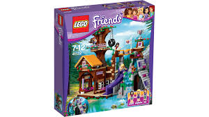 41122 Adventure Camp Tree House  Products  LEGO Friends™  LEGO Friends Lego Treehouse