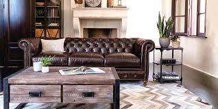 industrial living room furniture. Industrial Living Room Furniture With Sofa Table
