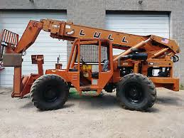 Lull 1044c 54 Forklift With 4 Cylinder John Deere 4045t