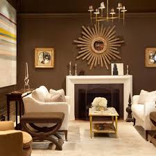 Brown Wall Living Room Ideas - living room chocolate brown walls with  copper orange, 26 cool brown and blue living room designs digsdigs, 25 best  ideas ...