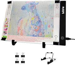 <b>Diamond Painting A4 LED</b> Light Pad - Dimmable Light Board Kit ...