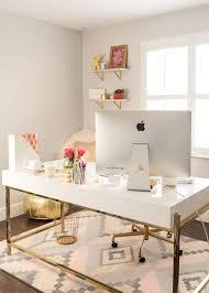 modern home office desks. chic office essentials modern home desks