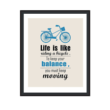 Life Quotes Posters Mesmerizing Motivational Posters Life Quotes Bicycle Art Inspirational Poster