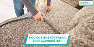 diy 6 quick steps for fabric sofa cleaning