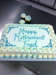 Retirement Cake Ideas For A Woman Crunch Catering Celebration Cakes