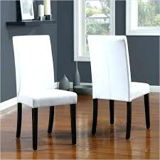 white leather dining room set white leather dining chair faux leather dining room chairs chair design