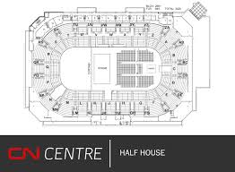 Cn Center Seating Chart Floor And Seating Plans Cn Centre