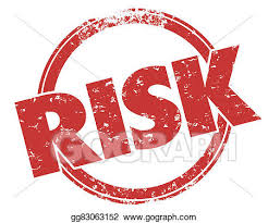 Word In Red Clipart Risk Word Red Grunge Stamp Danger Warning