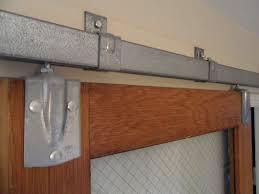 marvelous sliding barn door track system u john robinson house decor loveable home depot 3