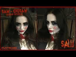 saw jigsaw puppet makeup tutorial naty