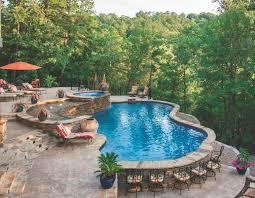luxury pools backyard