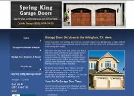 king garage doorSpring King Garage Door I68 All About Fancy Inspirational Home