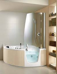 corner whirlpool tub with shower modern small bathroom furniture