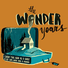 the wonder years band logo. Unique Logo A Few Different Color Variations Depending On The Of Shirt Were  Provided To Band For Their Printing And The Wonder Years Band Logo A