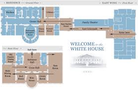 west wing office space layout circa 1990. east wing white house tour map west office space layout circa 1990