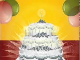 Happy Birthday To You Video W Cake Happy Birthday Cards Ecard Free