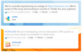 Office 365 Live Hotmail Msn Office 365 Live Com Sites Down Now Up