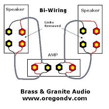audio faq s how to bi wire and bi amp pictures bi amping is similar to bi wiring but involves separate amplifiers one for the woofer and one for the midrange tweeter passive bi amping involves a