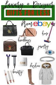 Designer Gifts Designer Gifts For Less With Ebay Fashion Affordable