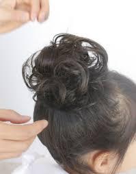 ヘアアレンジlesson4簡単お団子ベースのアレンジ和装にも合うヘア