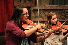 A Fiddle In The Palace: High And Low Jam In 'Chambergrass'   WBUR News
