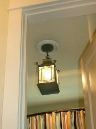 bathroom down lighting. replace recessed light with a pendant fixture bathroom down lighting