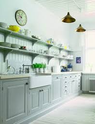 Open Shelving In Kitchen Kitchen Open Shelving Design Miserv
