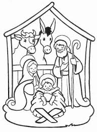 Nativity Coloring Pages Printable For Kids Coloringstar