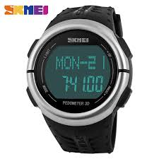 luxury watch ratings promotion shop for promotional luxury watch skmei 1058 digital watch men sport watches heart rate monitor waterproof relogio masculino watch mens watches top brand luxury