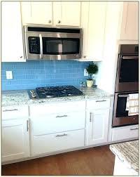 blue glass subway tile kitchen green backsplash porktopurslane com