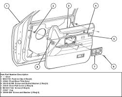 4t98y lincoln town car remove front drivers door panel ford window motor wiring schematic at morris minor
