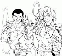 Small Picture 9 Pics Of The Real Ghostbusters Coloring Pages Real Ghostbusters