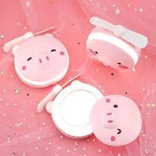 Pin sạc USB ] quạt mini cầm tay hình thú có đèn và gương 3 trong 1 - quạt  tích điện du lịch bỏ túi - Quạt Đứng Nhãn hàng No brand
