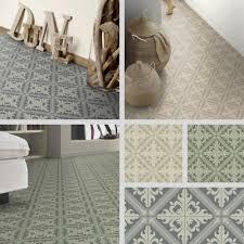 turkish tile effect sheet vinyl flooring cushioned lino kitchen bathroom roll