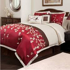 trend red cherry blossom bedding 86 on duvet covers ikea with set inside comforter designs 5